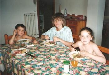 Itálie 2002 oběd