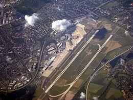Areál letiště