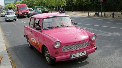 Trabanty jsou v Německu neustále populární.