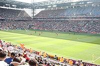 Vnitřek stadionu